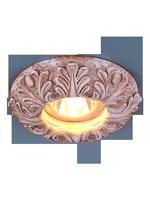 Гипсовый точечный светильник