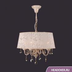 Люстра Евросвет 10008/4 белый с золотом