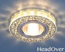 Светодиодный точечный светильник 6034 MR16 Electrostsndard хр/пр