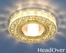 Светодиодный точечный светильник 6034 MR16 Electrostsndard зол/пр