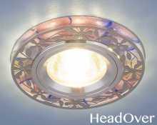Светодиодный точечный светильник 8096 MR16 Electrostsndard розовый