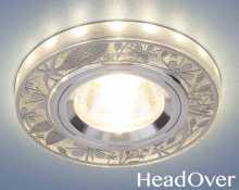 Светодиодный точечный светильник 8096 MR16 Electrostsndard серебро