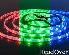 Набор светодиодной подсветки Elektrostandard Set Led Strip 5050 5m 12V 30Led 7,2W IP65 RGB