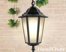 Подвесной уличный светильник Elektrostandard GL 1004H черный