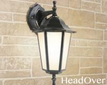 Светильник уличный настенный Elektrostandard GL 1004D черное золото