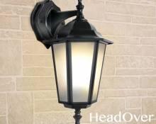 Светильник уличный настенный Elektrostandard GL 1004D черный