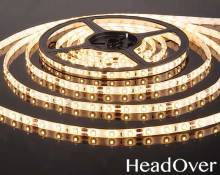 Светодиодная лента Elektrostandard 3528/60 LED 4.8W IP65 [белая подложка] теплый белый свет