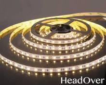 Светодиодная лента Elektrostandard 5050/60 LED 14.4W IP20 [белая подложка] теплый белый свет