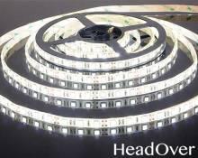 Светодиодная лента Elektrostandard 5050/60 LED 14.4W IP65 [белая подложка] белый свет