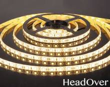 Светодиодная лента Elektrostandard 5050/60 LED 14.4W IP65 [белая подложка] теплый белый свет