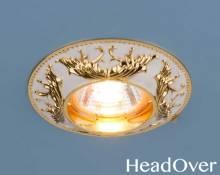 Точечный светильник Elektrostandard 7217 MR16 WHG белый/золото
