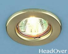 Точечный светильник Electrostandard 9210 золотой