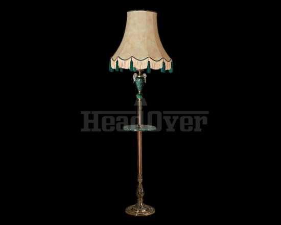 Торшер со столиком Goodlight 24-50КЗ/14359С из мрамора
