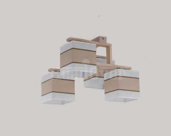 Люстра TK Lighting 562 Lea white 4