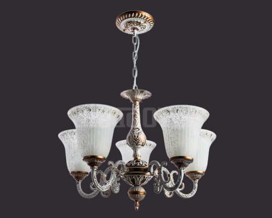 Люстра Arte Lamp A1032LM-5WG Delizia