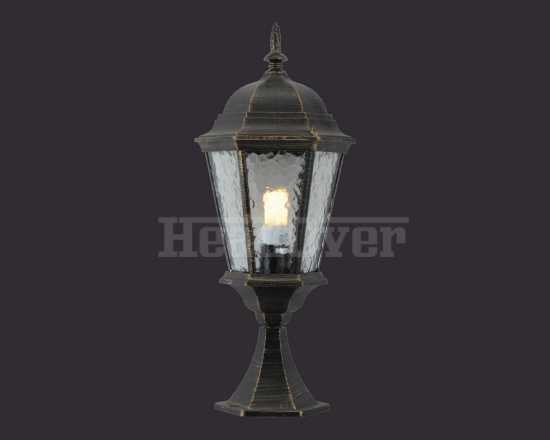 Уличный наземный светильник Arte Lamp A1204FN-1BN Genova