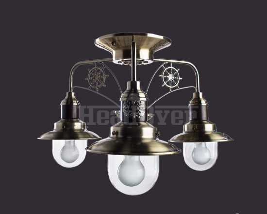 Люстра Arte Lamp A4524PL-3AB Sailor 3хE27х60Вт