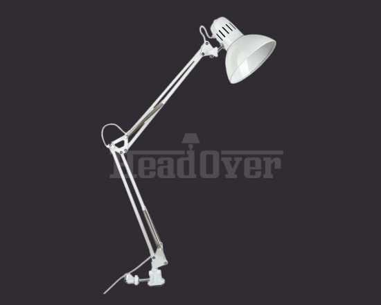 Настольная лампа на струбцине Arte Lamp A6068LT-1WH Senior