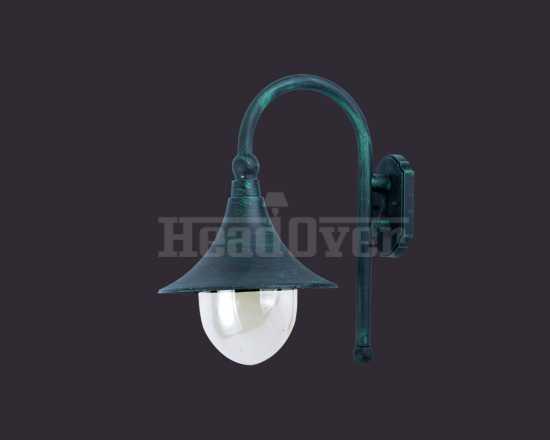 Уличный настенный светильник Arte Lamp A1082AL-1BG Malaga