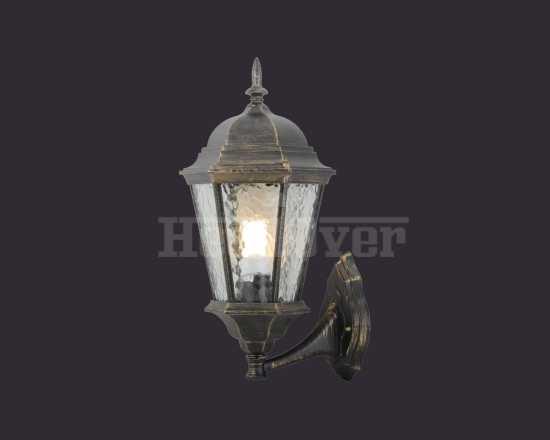 Уличный настенный светильник Arte Lamp A1201AL-1BN Genova
