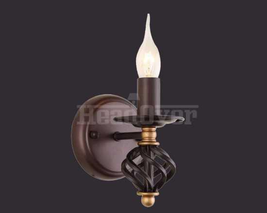 Бра Arte Lamp A4550AP-1CK Cartwheel