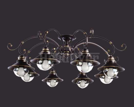 Люстра Arte Lamp A4577PL-8CK Grazioso