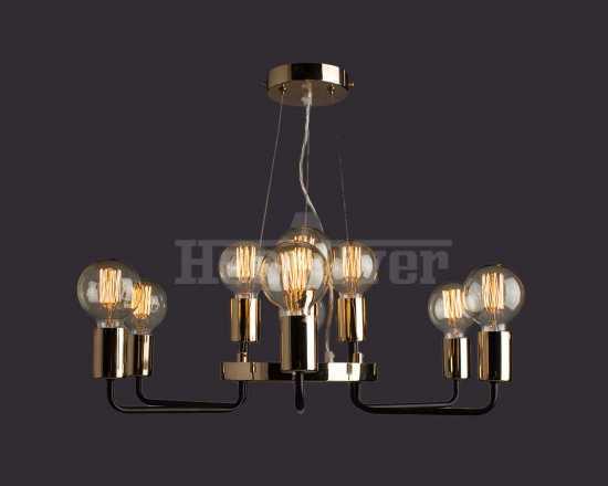 Люстра Arte Lamp A6001LM-9BK Gelo