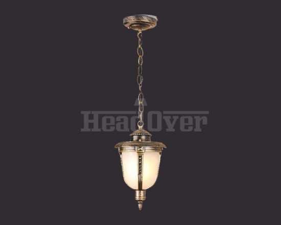 Уличный светильник Electrostandard Atlas H (GLYF-2010H) черное золото