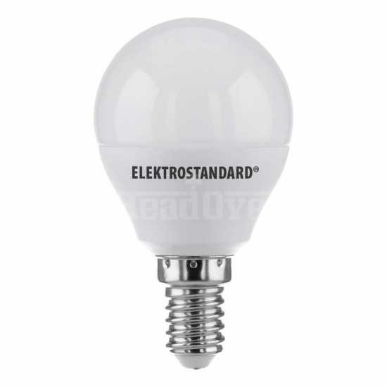 Лампа светодиодная Elektrostandard Mini Classic LED 7W 6500K E14 матовое стекло