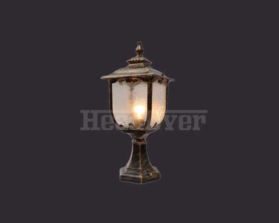 Уличный светильник Electrostandard Sculptor S (арт. GLXT-1407S) черное золото