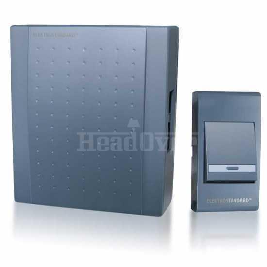 Звонок электромеханический Elektrostandard DBQ17 WM 1M IP44 Серый