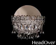 Бра Гусь-Хрустальный Катерина 1 лампа Конус 1031-2