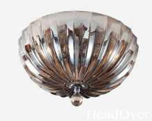 Потолочный светильник Newport 62003/PL cognac хром