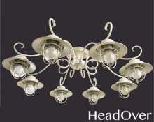 Люстра Arte Lamp A4579PL-8WG Lanterna