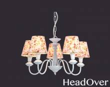 Люстра Arte Lamp A9212LM-5WH