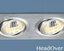Алюминиевый точечный светильник Elektrostandard 1011/2 CH (хром)