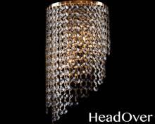 Бра Евросвет 3102/2 золото с прозрачным хрусталём