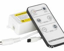 Контроллер для монохромных светодиодных лент С ПДУ Elektrostandard LSC 003 12V