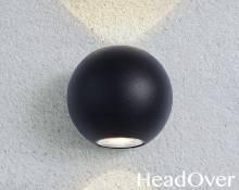 Настенный светильник Elektrostandard 1566 Techno LED Diver черный