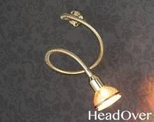 Подсветка Electrostandard 1214 золото