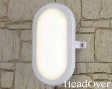 Пылевлагозащищенный светодиодный светильник Elektrostandard LTB0102D 22 см 12W