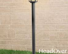 Светильник на столбе Elektrostandard GL 1014F черный