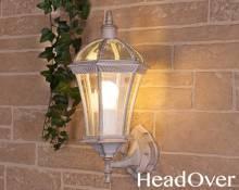 Светильник уличный настенный Elektrostandard Capella белое золото