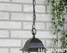 Светильник уличный подвесной Elektrostandard Vega H черный