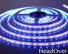 Светодиодная лента Elektrostandard 3528/60 LED 4.8W IP20 [белая подложка] синий свет