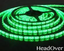 Светодиодная лента Elektrostandard 3528/60 LED 4.8W IP65 [белая подложка] зеленый свет
