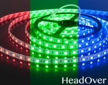 Светодиодная лента Elektrostandard 5050 12V 60Led 14,4W IP20 RGB