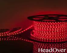 Светодиодная лента Elektrostandard LSTR003 220V 14,4W IP65 красный