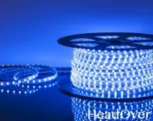 Светодиодная лента Elektrostandard LSTR003 220V 14,4W IP65 синий