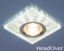 Точечный светильник светодиодный Elektrostandard 8361 MR16 WH/SL белый/серебро